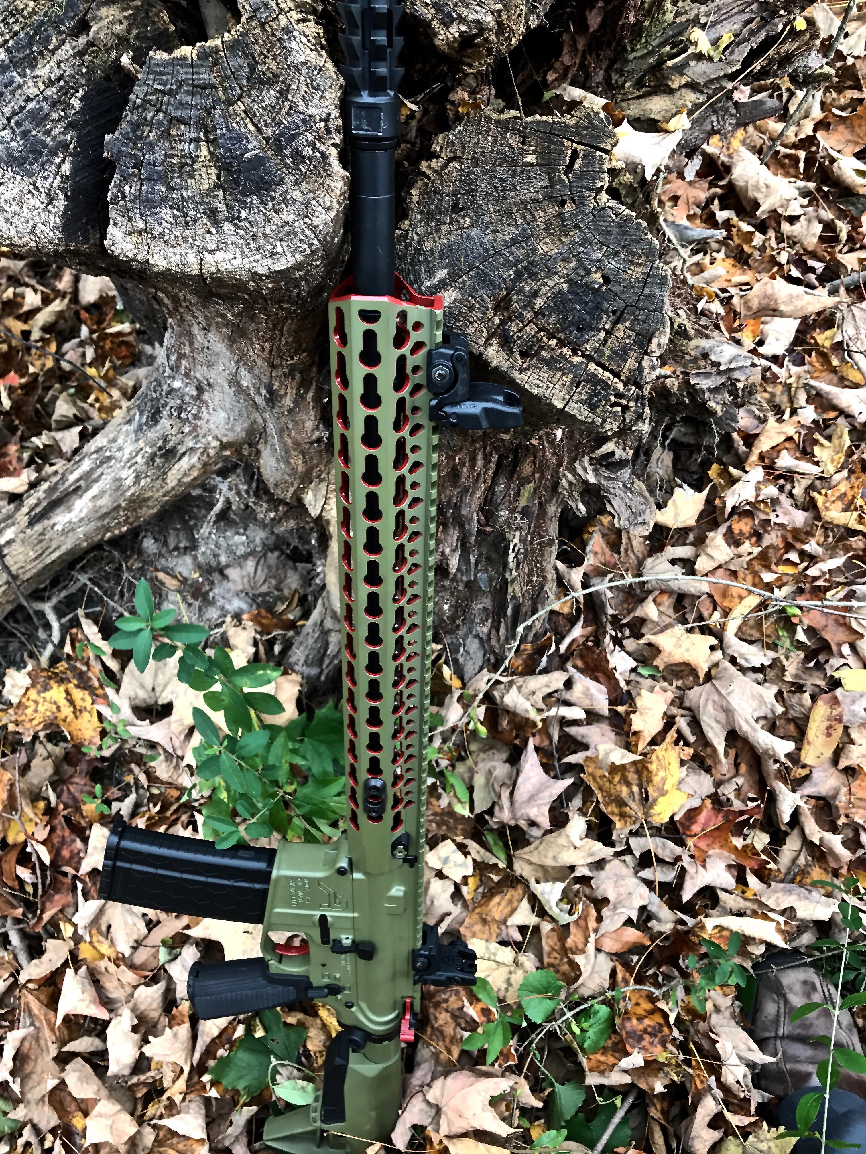 Cerakote AR Rifle