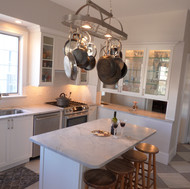 cape may beach house kitchen
