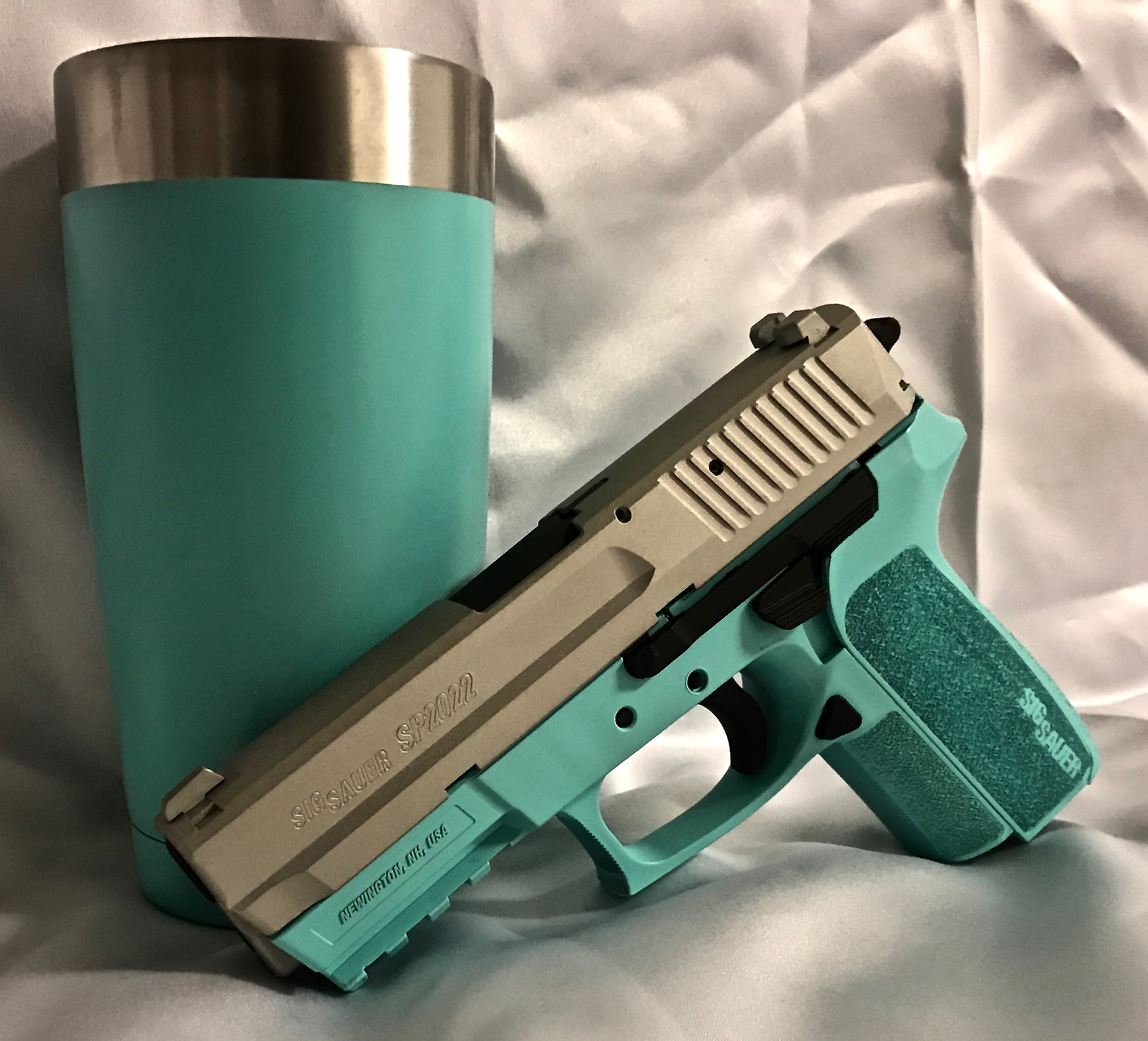 Cerakote Matching Yeti and Handgun