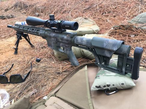 Cerakote Camo Rifle