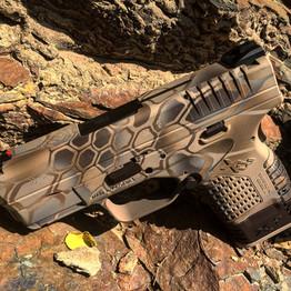 Cerakote Hexagon Handgun