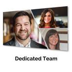 Dedicated Marketing Team