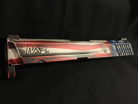 Cerakote American Flag Slide Handgun