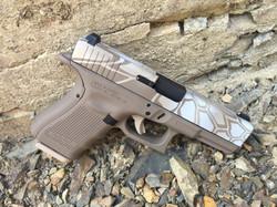 Cerakote Upper Hexagon Handgun