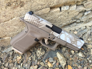 Cerakote Desert Hexagon Handgun