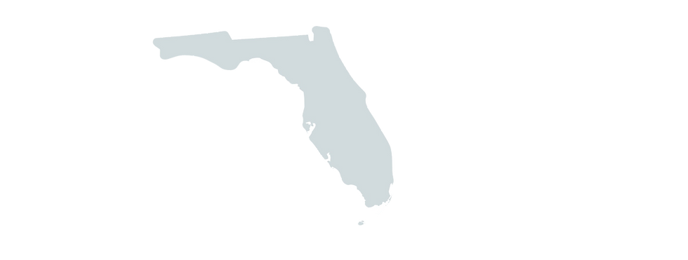 map of southeast florida pest control service area