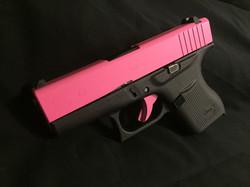 Cerakote Upper Pink Handgun