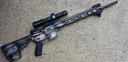 Cerakote Rustic AR Rifle