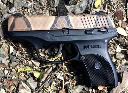 Cerakote Snakeskin Handgun