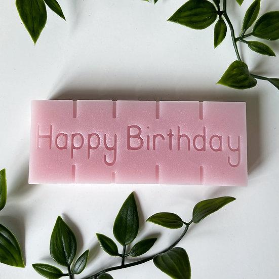 Happy Birthday Snap Bar