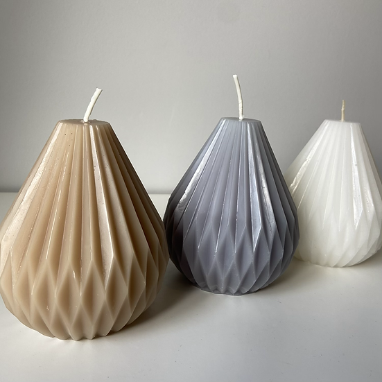 Wide Lantern Candle