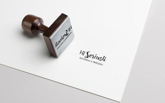 Ejemplo de sello para Seriusli