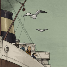 El Barco que no tenía estribor