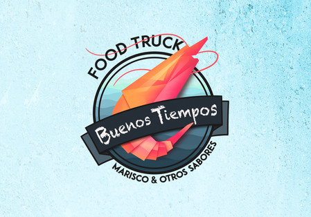 """Isologo para food truck """"Buenos Tiempos"""""""