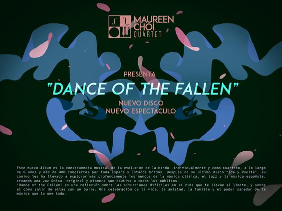 Flyer promocional del nuevo trabajo de Maureen Choi Quartet