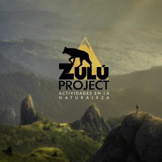 "Póster Zulú ""montañas"""