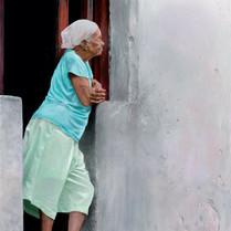 Anciana en la Habana