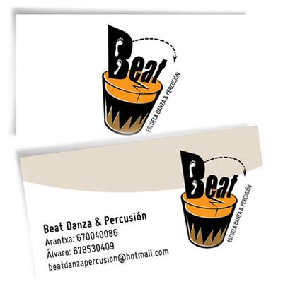 Tarjetas de visita para Beat.