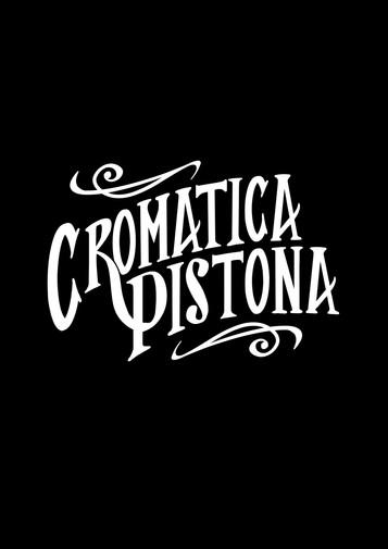 Logo Cromática Pistona B/N.