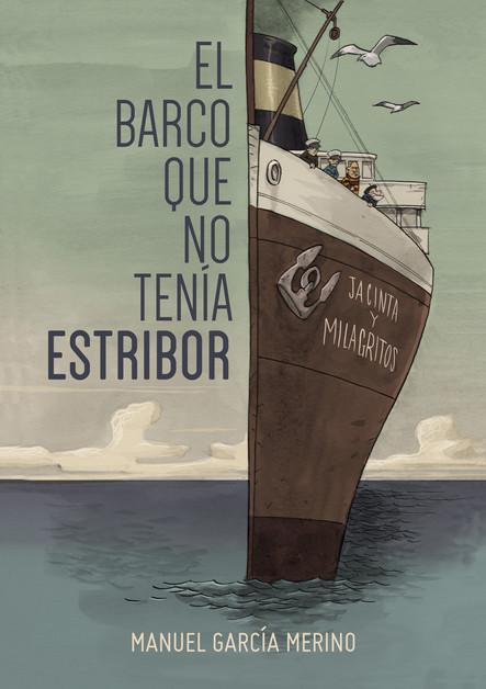 """Portada para """"El Barco que no tenía Estribor"""""""