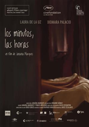 """Cartel del cortometraje """"Los minutos, las horas"""" de Janaina Marques"""