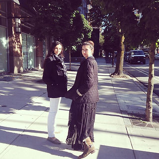 Sisters in Vancouver
