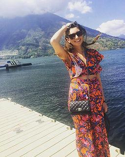 Girl at Lake Atitlan