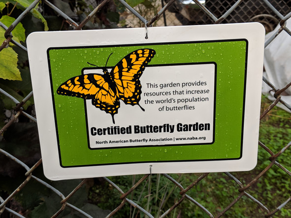 Butterfly garden certification