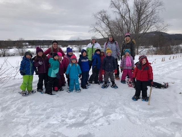 Kinder snowshoe