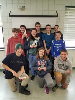 GMHS Math Counts Competition 2019