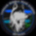 Huskey Husky Huskie Logo Circle Colored