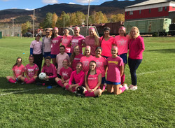 GMHS Girls Soccer- Pink Out- 2018