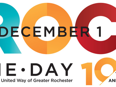 Are You Ready to ROC the Day With Us on December 1st?