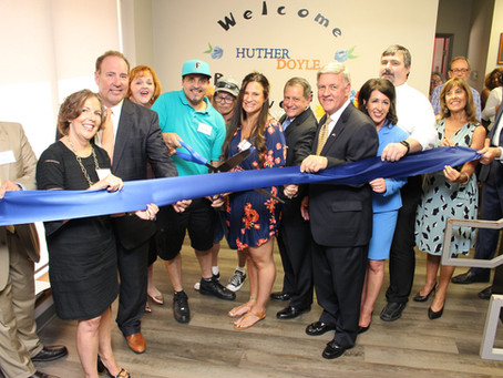 PHOTO GALLERY: Ribbon Cutting for Expanded Medication Assisted Treatment Program at Huther Doyle!