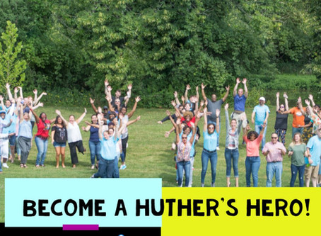 #GivingTuesdayNow - Become a Huther's Hero!