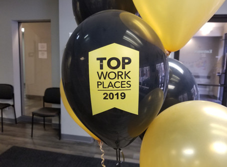 Huther Doyle named a TOP WORKPLACE by the Democrat & Chronicle!