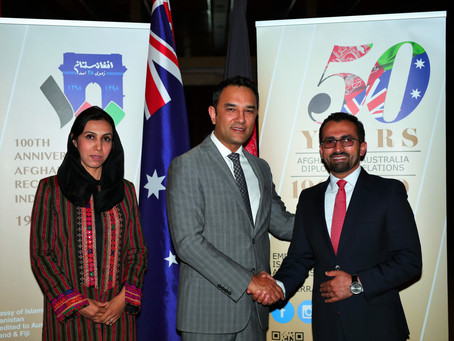 Afghanistan and Australia 50 years of diplomatic relations