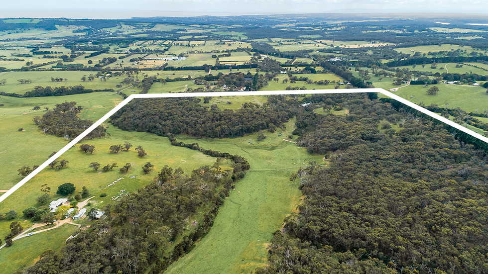 Red Hill Ridge aerial view