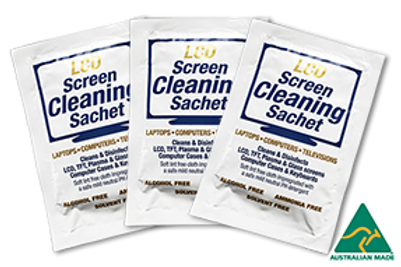 LCD Screen Cleaning Sachet