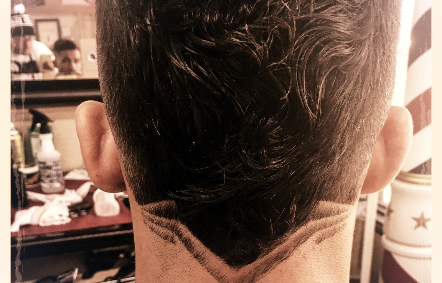 Cut and design by Barber Rondol Moss