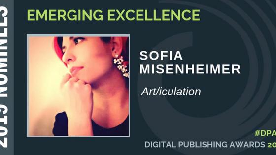 Finalist for 2019 Publishing Award