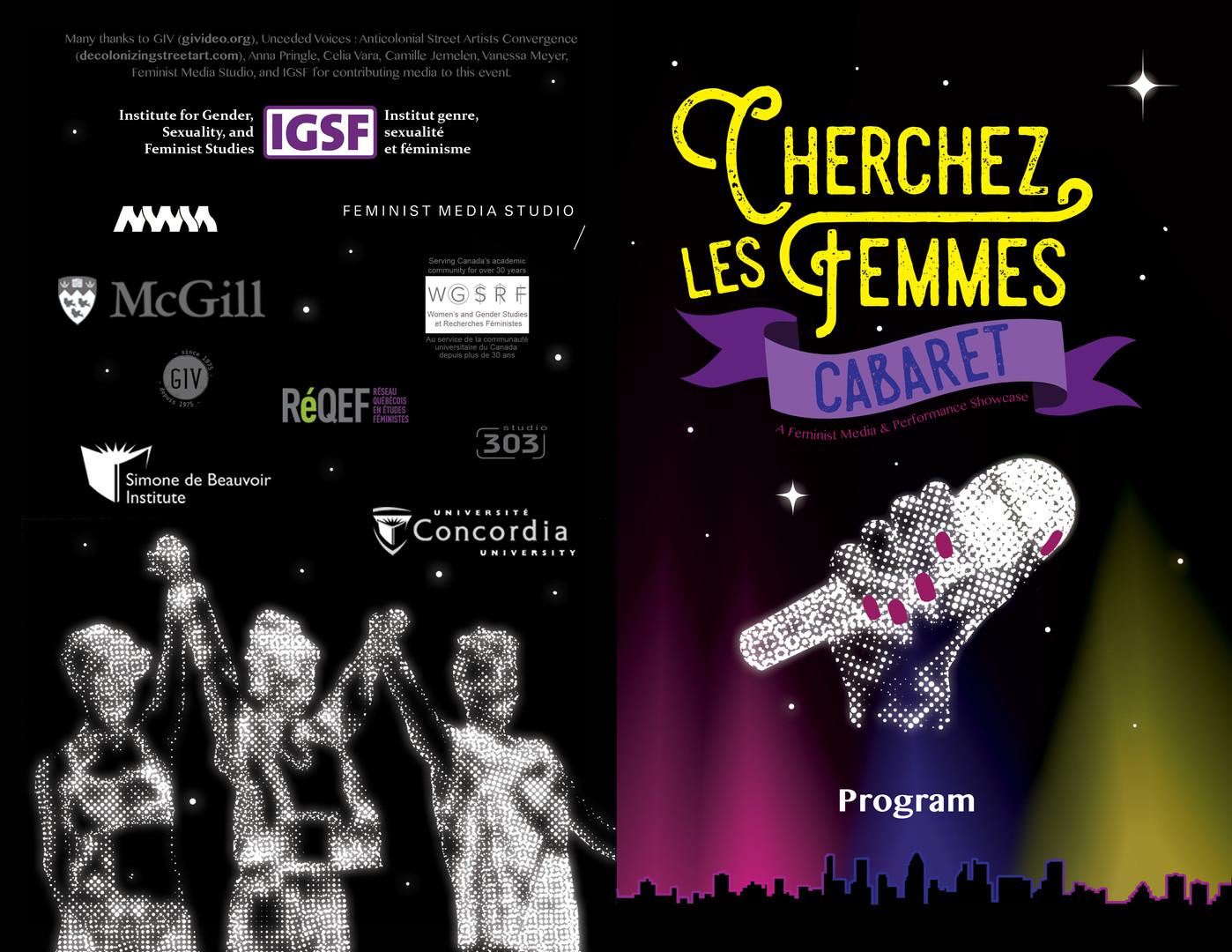 Program Cover (front/back)