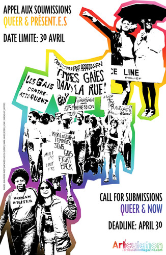"""Queer and Now,"" Call for Submissions"