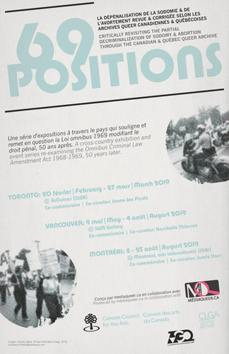 69 Positions: Decriminalization in the queer Canadian archive (1965-1981)