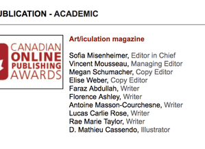 Canadian Online Publishing Awards