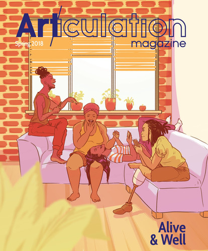 """Alive & Well"" issue, Art/iculation"