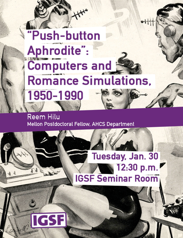 """Push-button Aphrodite"" (poster)"