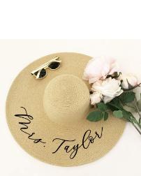 Etsy Personalized Sun Hat Floppy Beach Hat