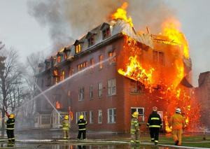 FIRE RESISTING PROPERTIES OF COMMON BUILDING MATERIALS