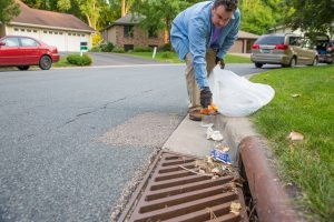 Volunteers 'Adopt-a-Drain' to improve urban Storm Water management